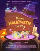 Plagát Disney Halloween party 2017
